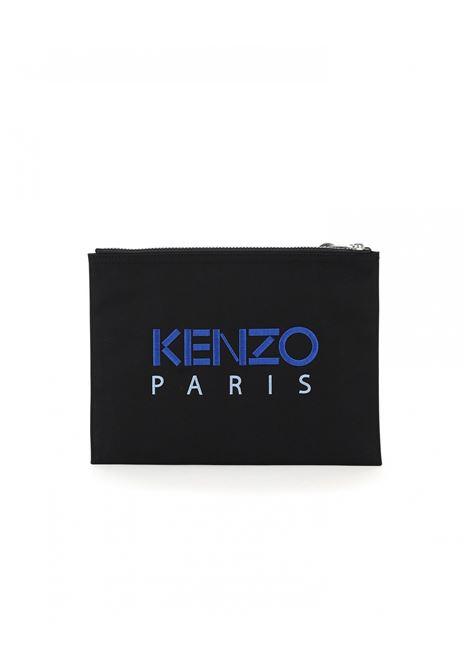 Kenzo clutch con ricamo uomo KENZO | Portafogli | FA65PM302F2099F